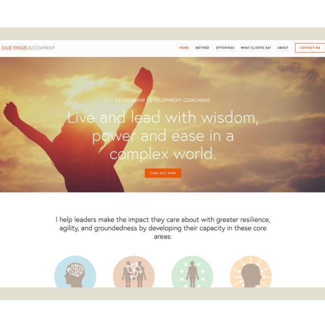 Julie Engel & Company website