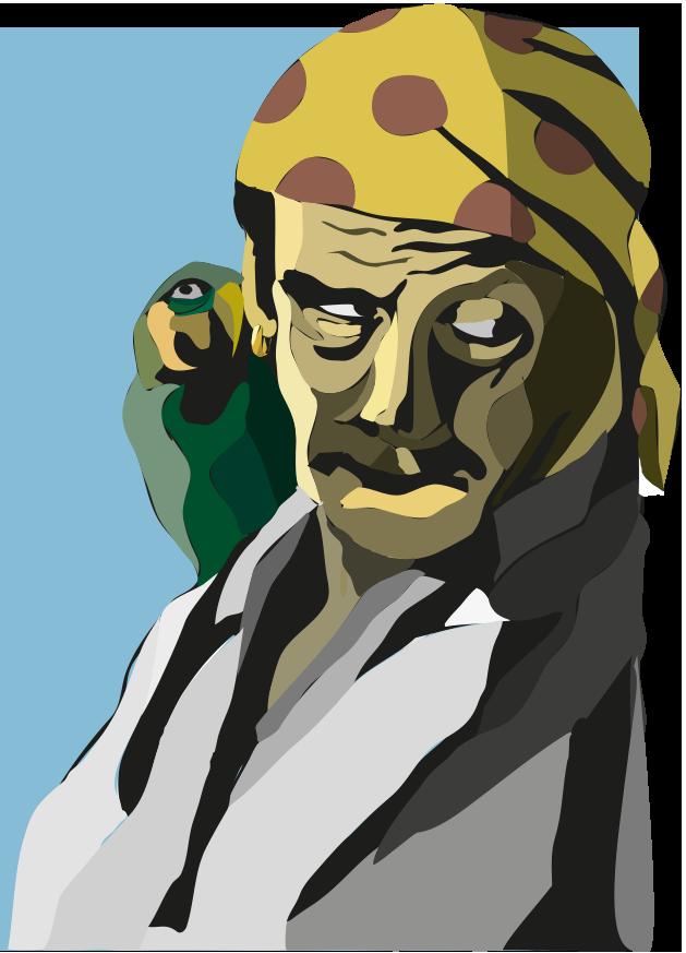 Pirate illustrations