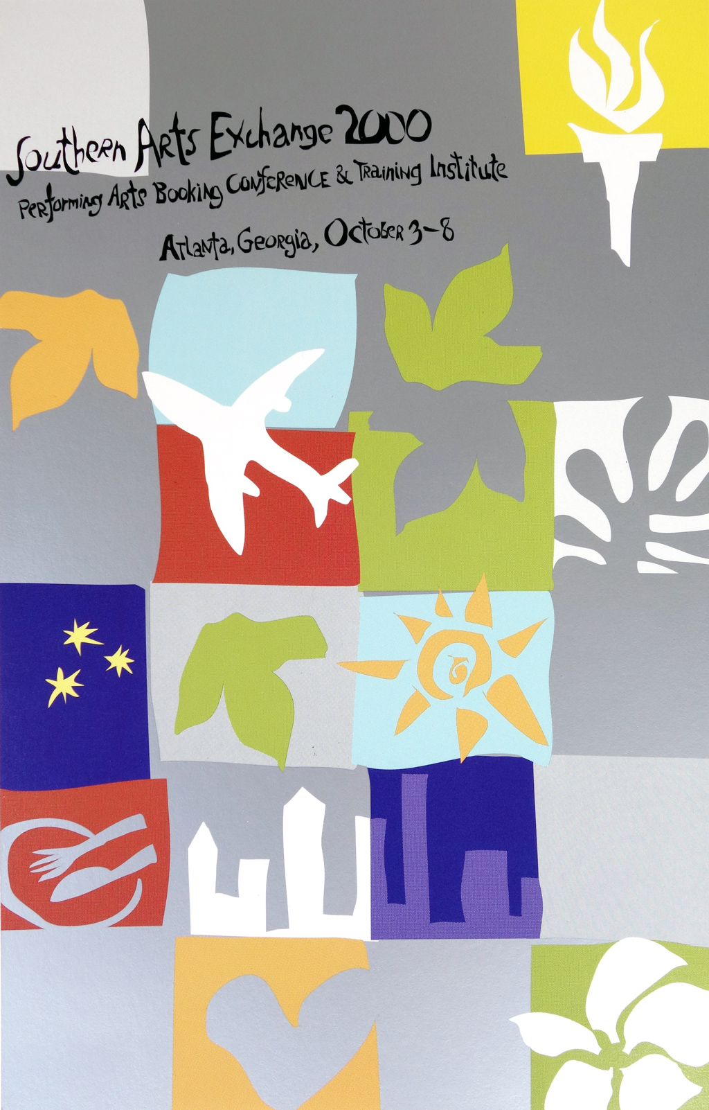 Southern Arts Exchange postcard