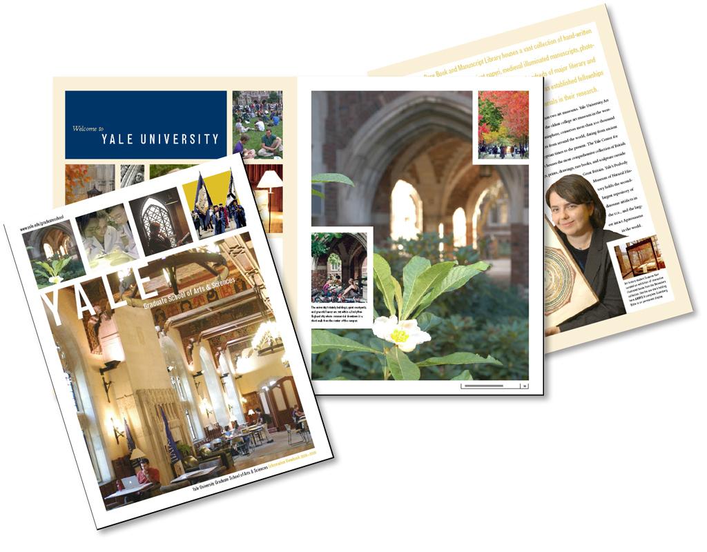 Yale Graduate School viewbook